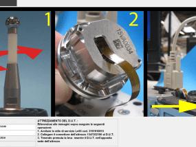 Test di collaudo trasduttori piezoelettrici